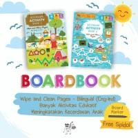 BILINGUAL ACTIVITY BOOK (2 BUKU WIPE AND CLEAN)