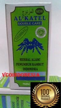 Alkatel / Al Katel - Minyak Herbal Penumbuh Rambut Alami