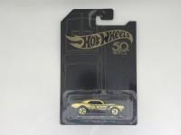 Hot Wheels Die Cast 67 Camaro Gold Edition 50th Langka Rare