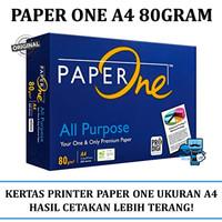 Kertas A4 HVS Paper One 80 Gram HVS A4 Paper 500 Lembar