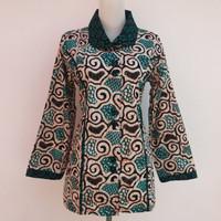 Blouse Batik/ Kebaya jumputan/Atasan batik/ Blouse batik/ Blouse