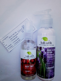 Paket Hemat MiLo (Mist & Lotion) Bali Ratih