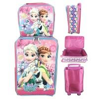 Tas Koper Sekolah Anak SD Anti Air Set Dengan Lunch Bag Frozen JUMBO