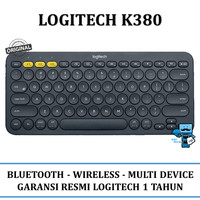 Keyboard Wireless Bluetooth Logitech K380 - Android, Apple, Windows