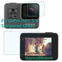 GoPro LCD Screen Tempered Glass Gopro Hero 6 Hero 5 Anti Gores Kaca