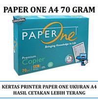 Kertas A4 HVS Paper One 70 Gram HVS A4 Paper 500 Lembar