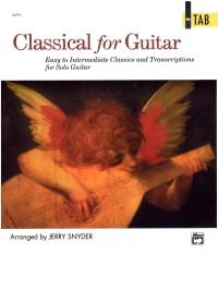 Buku Gitar - Classical for Guitar In TAB