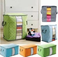 Storage Box Organizer Bag / Tempat Penyimpanan Pakaian Selimut - X456