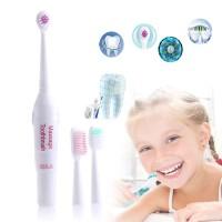 HP036 Sikat Gigi Elektrik + 3 Kepala Sikat Electric Toothbrush Massage