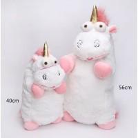 Boneka unicorn fluffy 56cm