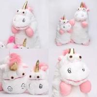 Boneka unicorn fluffy 40cm