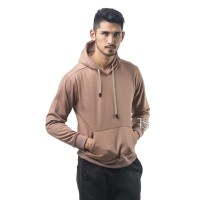 HOODIE JUMPER COKLAT MOCCA POLOS PRIA M-XL