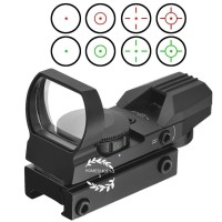 HOLOSIGHT Red Green dot aim 4 reticle 20mm airsoft
