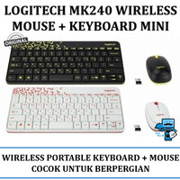 logitech mk240 nano wireless combo keyboard + mouse