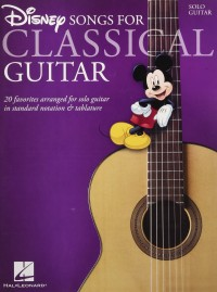 Buku Gitar Disney Songs for Classical Guitar