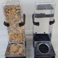 (Murah) Botol Dispenser Tempat Pakan/Minum JUMBO Burung Hamster DLL
