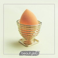 BEAUTYLIST Swirl Sponge Holder (Gold)