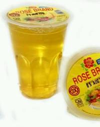 Minyak Goreng Rose Brand gelas 220 ml