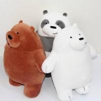 Boneka We Bare Bears 30cm Boneka Beruang Boneka Kucing