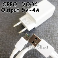 CHARGER OPPO 4A - FAST CHARGING VOOC FLASH CHARGE MICRO F3 F5 F7 4ATCO