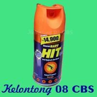 Semprotan Spray Anti Nyamuk dan Kecoa Hit Orange Spray 200ml