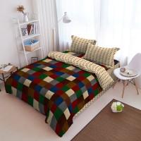 Kintakun Bed Cover D'luxe - 180 x 200 (King) - Sierra