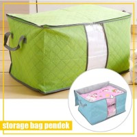 Storage Bag Selimut Baju Lipat / Foldable Box Cloth Organizer PENDEK
