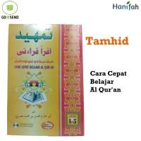 Buku Tamhid iqro Qiroati Jilid 1-5 - Cara Cepat Belajar Al Qur'an