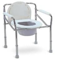 Kursi BAB / Commode Chair bisa dilipat untuk manula