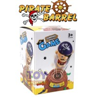 Mainan Pirate Barrel Mini - Jumping Pirate Game Running Man Game