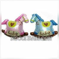 Balon kuda baby boy baby girl/balon baby shower/balon lahiran baby