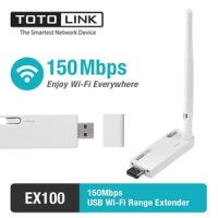 Totolink, 150Mbps USB Wifi Range Extender, EX100