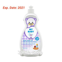 My Baby Bottle Nipple Cleanser 450ml Sabun Cuci Botol 450 ml