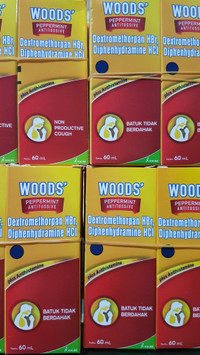 Woods Obat Batuk Tidak Berdahak 60mL