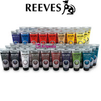 Reeves Acrylic Colour Fine Artist 75ml / Cat Acrylyc Reeves Tube