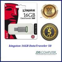 original Kingston DataTraveler 50 USB 3.1 16GB flashdisk DT50/16GBFR