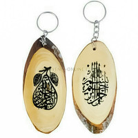 souvenir gantungan kunci kaligrafi arab