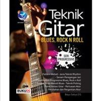 Buku Teknik Gitar Blues, Rock n Roll (Seri Progressive)