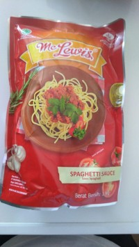 MCLEWIS SPAGHETTI SAUCE 1KG