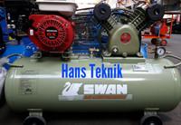 Kompresor SWAN 1 PK HP Bensin Honda Pompa Angin Compressors Original