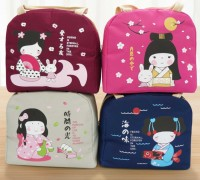 Iconic Insulated Lunch Picnic Bag Cooler JAPANESE GIRL (GN216)