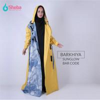 Jas Hujan Muslimah Sheba Barkhiya Sun Bright Model Gamis Termurah