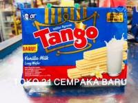 Tango Wafer VANILLA MILK Long Wafers 47g   Biscuits Susu Vanila Tango