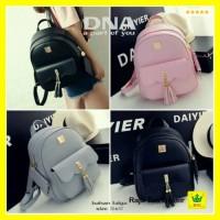 Mini Ransel / Backpack Tas Punggung Wanita Rumbai db03