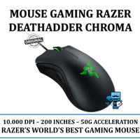 Mouse Gaming Razer Deathadder Chroma - The World's Best Gaming Mouse