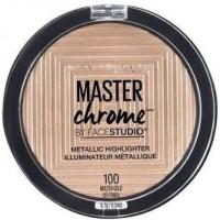 MAYBELLINE Master Chrome Metallic Highlighter Makeup (Molten Gold)