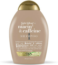 ogx Organix Fight Fallout Plus Shampoo Niacin & Caffeine 13 Fl oz
