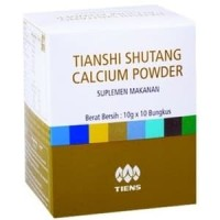 PAKET OBAT HERBAL DIABETES Shutang Kalsium + Spirulina Tiens Tianshi