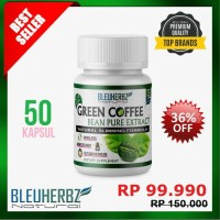 Green Coffee Bean Extract/Kopi Hijau Diet Natural 100%