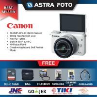 CANON EOS M10 KIT 15-45MM PAKET DAHSYAT 16GB + BONUS